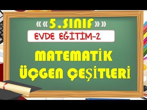 5.Sınıf Matematik Üçgen Çeşitleri-Yardımcı Öğretmen