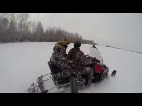 Покатушки на снегоходе Yamaha RS Viking Professional 2015