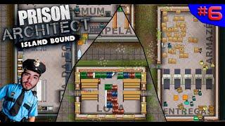 LIVRE MERCADO NA PRISÃO E DESAFIOS LOGÍSTICOS ? - PRISON ARCHITECT #6 - (Gameplay/PC/PTBR) HD