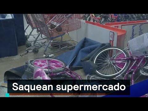 Saqueos en supermercado de Villa Nicolás Romero, Edomex - Al Aire con Paola