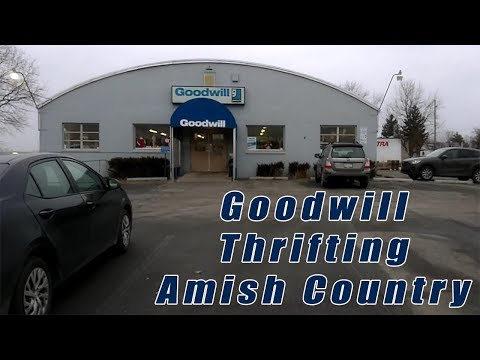 Goodwill Thrift Store In Amish Country, Lancaster Pa