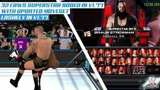 WWE 2K18 PPSSPP V1.77 (32 CREATED SUPERSTARS UPDATED MOVES)
