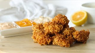Crispy Noodle Chicken Nuggets Recipe | Recipes by Carina