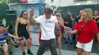 Give dem a dance @ blackas bbq