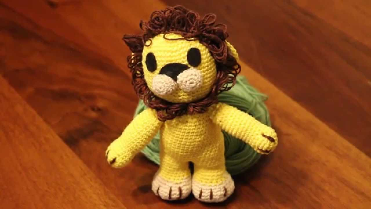 How To Crochet A Lion - YouTube | 720x1280