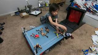 homepage tile video photo for Prestons Toys Ep. 41: WWE 8 Man Battle Royal with Savage and Roode