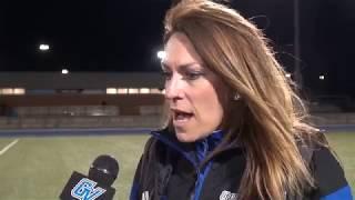 2018 GVSU Lacrosse - Alicia Groveston Post-game Interview (Mar. 29) thumbnail