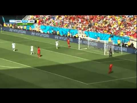 Argentina vs Belgium Highlights World Cup 2014