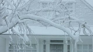21 inches of snow and counting in Boston