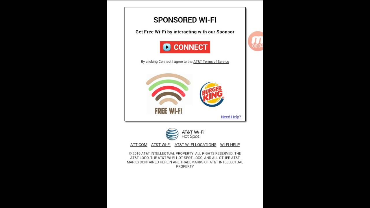 How to Connect To Burger Kings WiFi Without Watching a Advertisement!