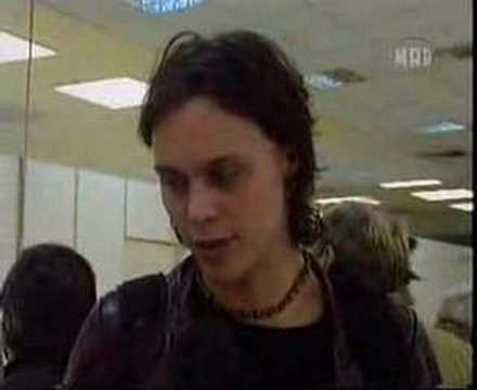 Ville Valo Interview In An Athens Airport