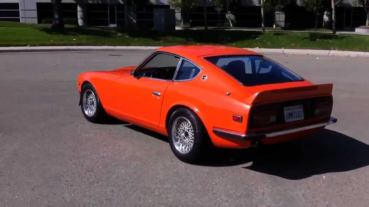 1973 Datsun 240z Daily Driver Great Condition Orange