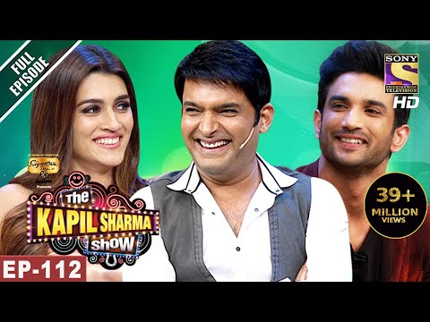 Thumbnail: The Kapil Sharma Show - दी कपिल शर्मा शो-Ep-112-Sushant And Kriti In Kapil's Show- 10th Jun, 2017