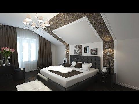 Спальня на мансардном этаже || Фазенда Лайф