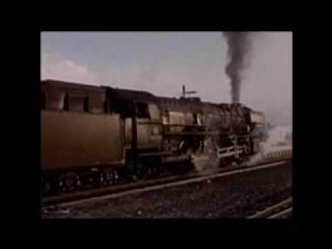 Steam Trains West German Memories From Old Cine Film 1960 - 1970
