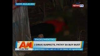 3 drug suspects, patay sa buy-bust