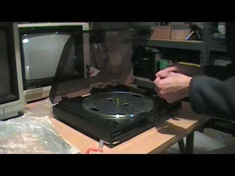 Pioneer PL-990 turntable unboxing & setup