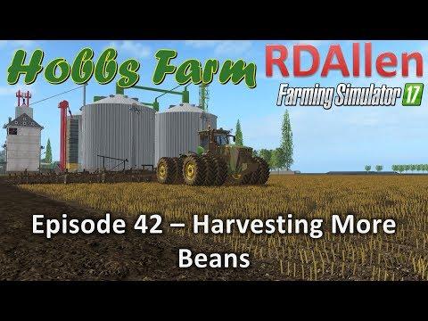 Farming Simulator 17 MP Texas E42 - Harvesting More Beans