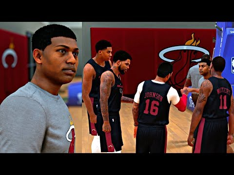 TRYING OUT FOR THE MIAMI HEAT! HITTING A GAME WINNER AND IMPRESSING THE COACHES! - NBA 2K18 PRELUDE