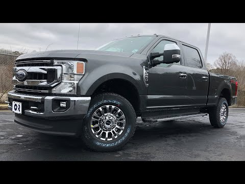 2020-ford-f-250-super-duty-7.3-liter-gas-v8-details,-horsepower,-torque-numbers-and-test-drive
