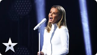 Amanda Holden performs a BEAUTIFUL version of 'Not While I'm Around' | Semi-Finals | BGT 2020