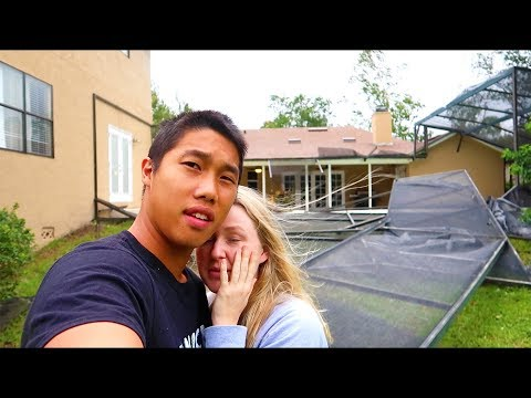 Hurricane Irma Hits Home (Orlando Florida Live Footage)