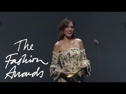 Erdem | Establishment Designer | British Fashion Awards 2015