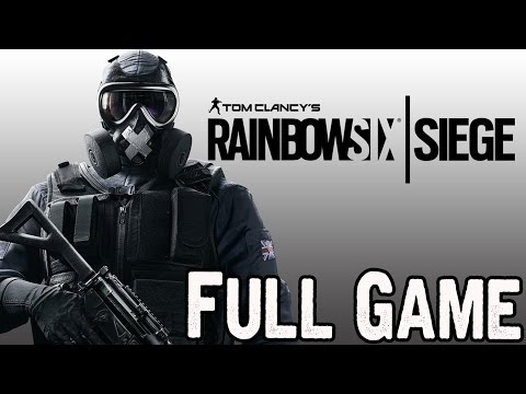 Rainbow Six Siege Full Game Walkthrough [All Solo Situation Missions]