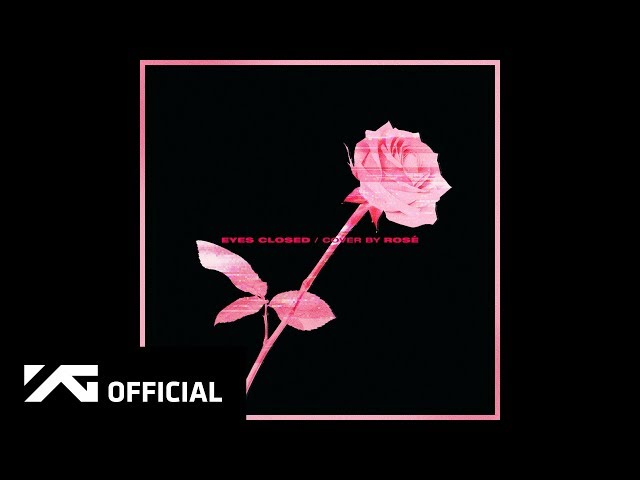 ROSÉ - 'EYES CLOSED (Halsey)' COVER