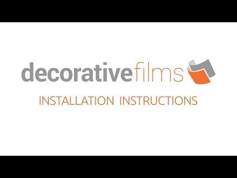 SOLYX® Decorative Window Film Installation Walkthrough