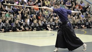 4th dan weapons grading - Stephen Webb, Golden Knights Martial Arts