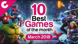 Top 10 Best Android/iOS Games - Free Games 2018 (March)
