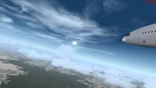 """""""Ghana Airways"""" DC-10 Abidjan, Ivory Coast to Accra, Ghana: Vignette 2 of 2"""