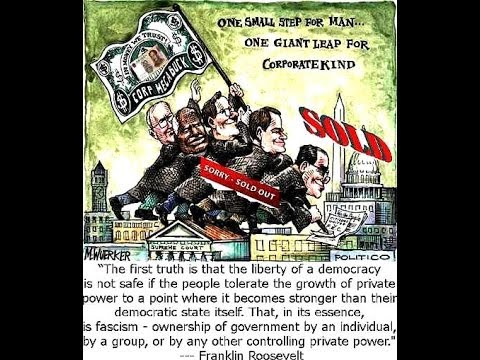 CORPORATE FASCISM  The Destruction of America's Middle Class