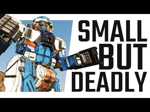 Small but Deadly! The Commando! Mechwarrior Online The Daily Dose #518