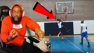 FLIGHT TRIED TO INJURE & PUSH ME DURING MID AIR LAYUP! 2v2 Basketball  Flight & McQueen