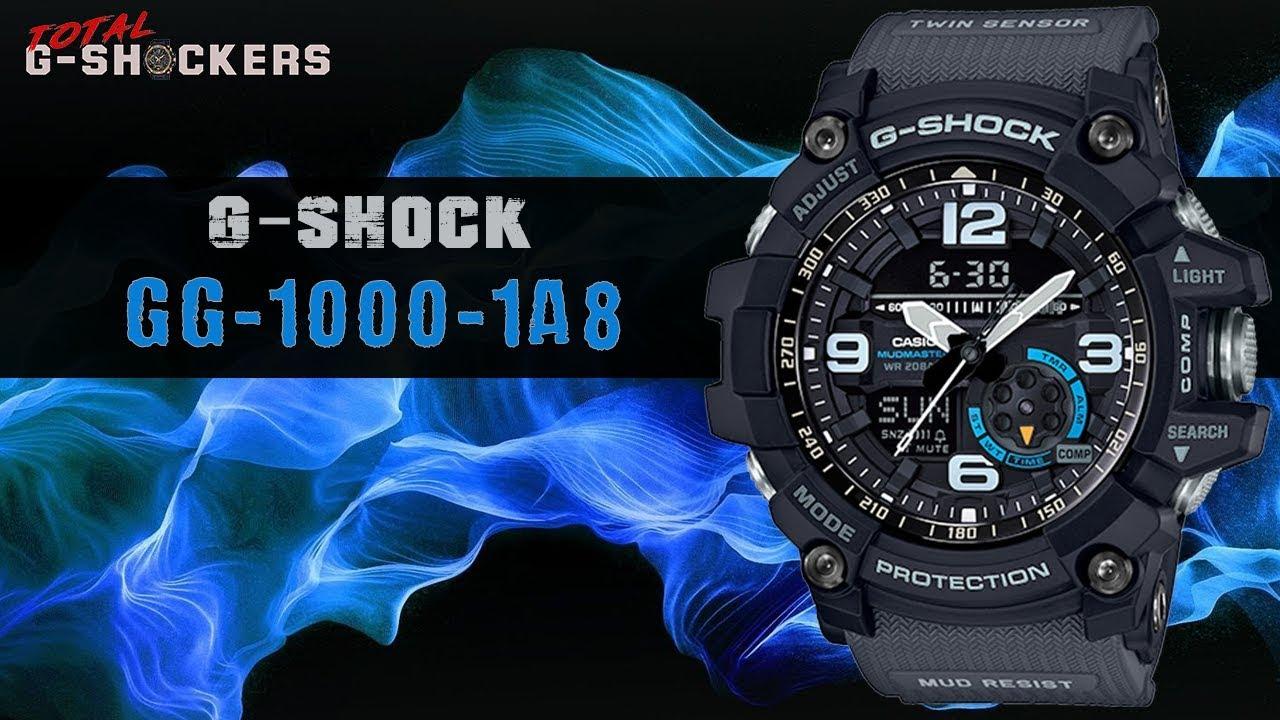 Casio G-SHOCK GG1000-1A8 MUDMASTER  5690b403fec