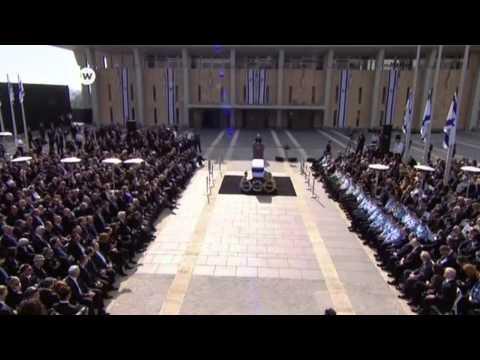Israelis Bury Former Prime Minister  Ariel Sharon