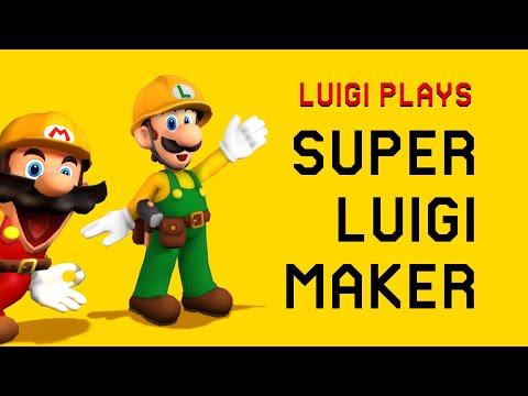 Luigi Plays: SUPER LUIGI MAKERRR Part 1