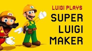 Luigi Plays: SUPER LUIGI MAKERRR (Part 1)