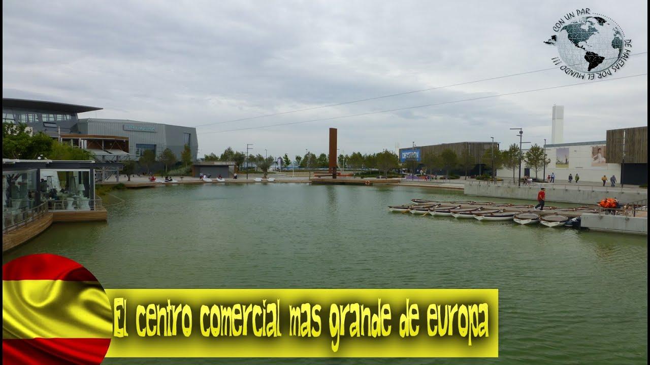 Puerto venecia el centro comercial m s grande de europa zaragoza junio 2013 youtube - Centro comercial puerto venecia zaragoza ...