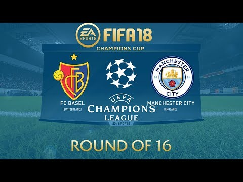 FIFA 18 FC Basel vs Manchester City | Champions League 2017/18 | PS4 Full Match
