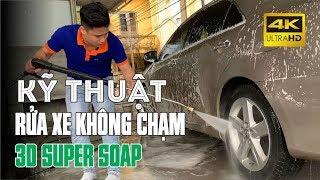 Hướng dẫn kỹ thuật rửa xe không chạm 3D Products Super Soap