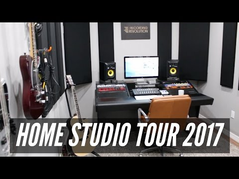 Home Studio Tour 2017 - TheRecordingRevolution.com