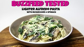 BUZZFEED TESTED: LIGHTER ALFREDO PASTA