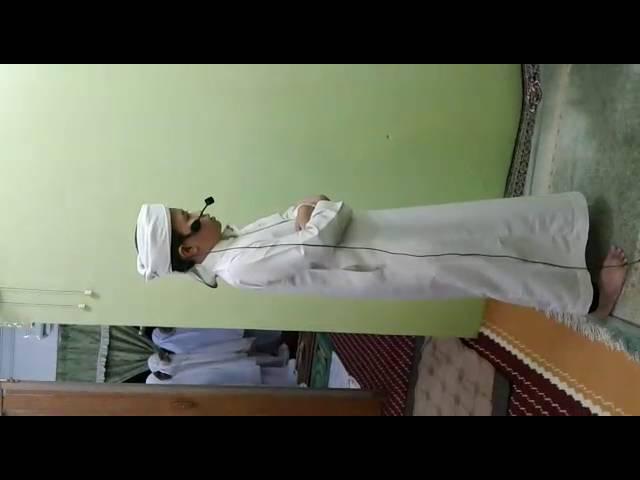 Imam Muda Ahmad Naufal Qari Junior, Solat Terawih Masjid Nur Iman, Kelantan-Ramadhan Malam ke3 1437.