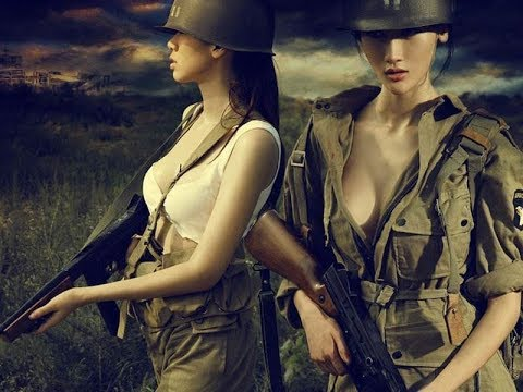 "China Women Soldiers ""Three kilometres"""