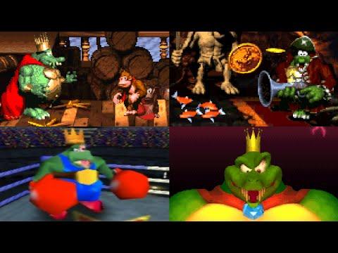 Evolution of King K. Rool Battles