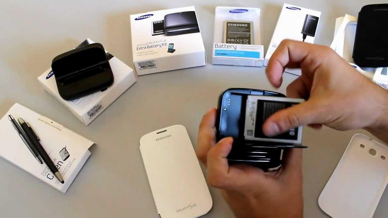 Samsung galaxy s3 accesorios originales en octilus youtube - Accesorios hogar originales ...
