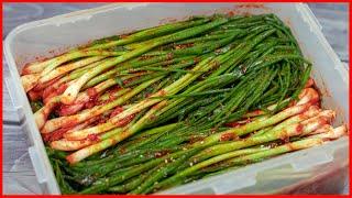 [ENG SUB] Green Onion Kimchi helps strengthen the body's resistance – Kim Chi Hành Lá